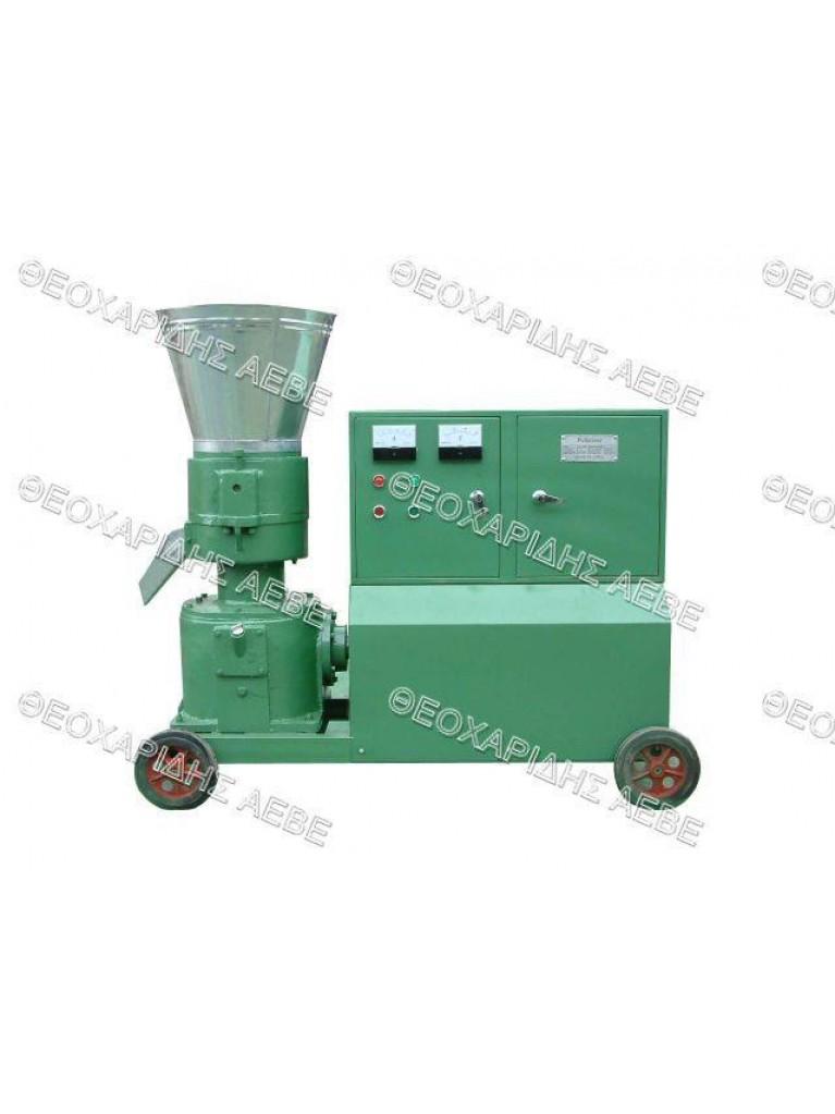 Μηχανή παραγωγής Pellets 10hp τριφασική