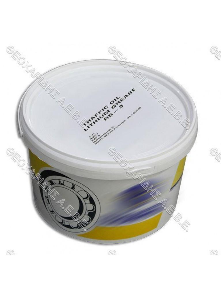 ΓΡΑΣΟ ΡΟΥΛΕΜΑΝ, ΛΙΘΙΟΥ RS3 ΔΟΧΕΙΟ 4kgr